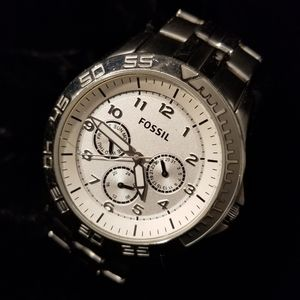 Fossil mens watch day date 24 dial